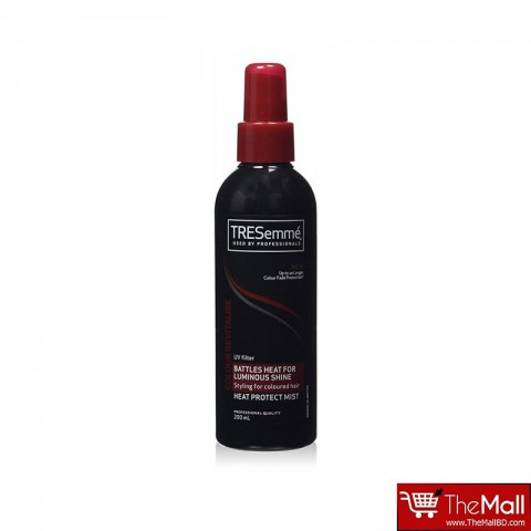 TRESemme Colour Revitalise UV Filter Battles Heat For Luminous Shine Heat Protect Mist 200ml