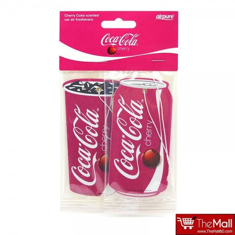 Air Pure Coca Cola Cherry Coke Scented Car Air Fresheners