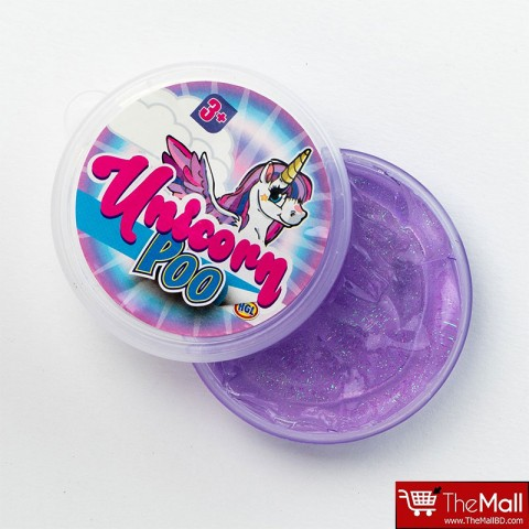 Unicorn Poop Glitter Slime - Purple