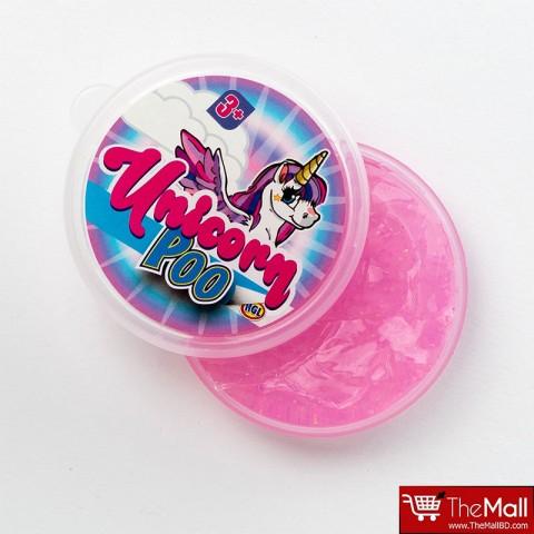 Unicorn Poop Glitter Slime - Pink
