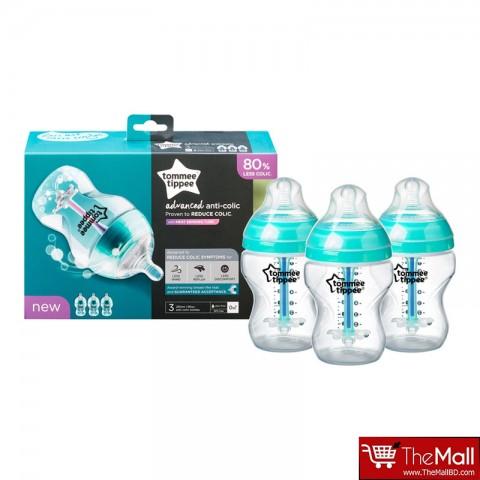 Tommee Tippee Advanced Anti Colic Bottle 260ml - 3pk