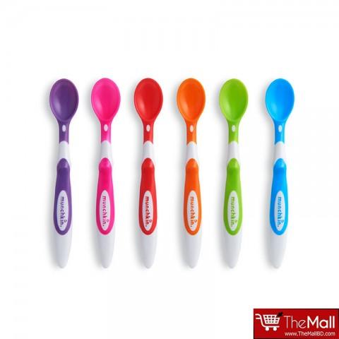 Munchkin Soft Tip Infant Spoons 6PK