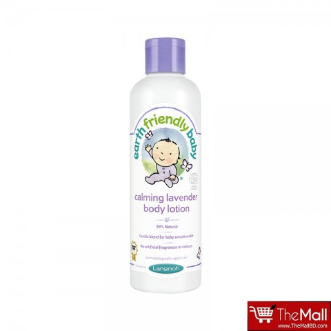 Earth Friendly Baby Organic Calming  Lavender Body Lotion 250ml