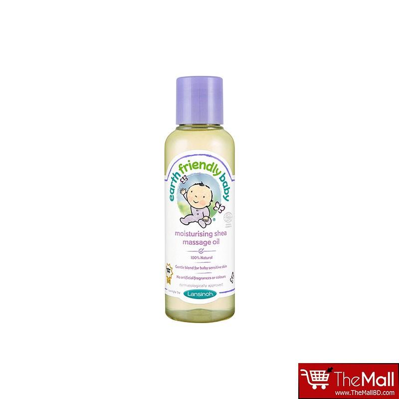 Earth Friendly Baby Moisturizing Shea Butter Massage oil 125ml