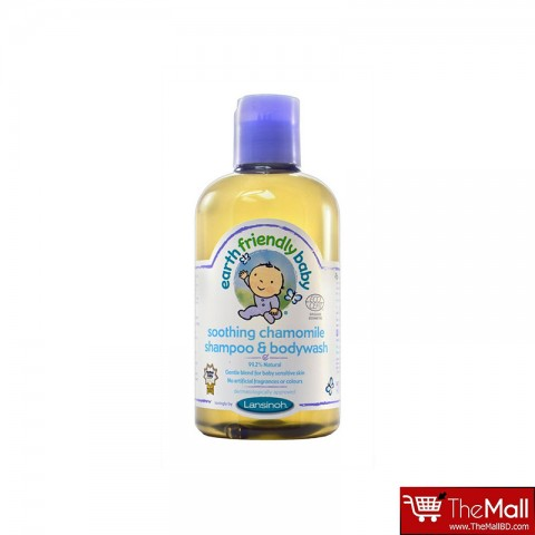Earth Friendly Baby Organic Baby Shampoo & Body wash Chamomile 250ml