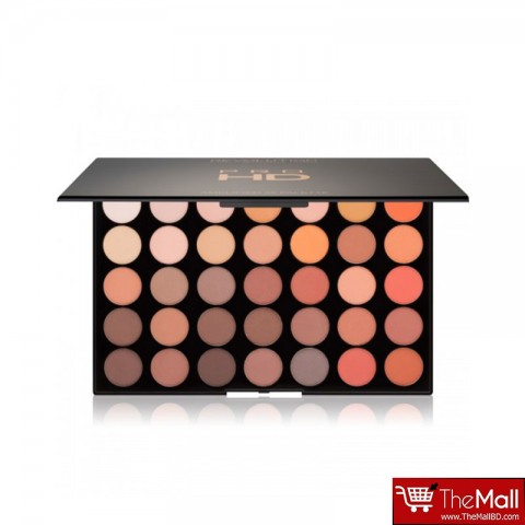 Makeup Revolution HD Pro Amplified 35 High Payoff Talc Free Eyeshadow Palette - Inspiration