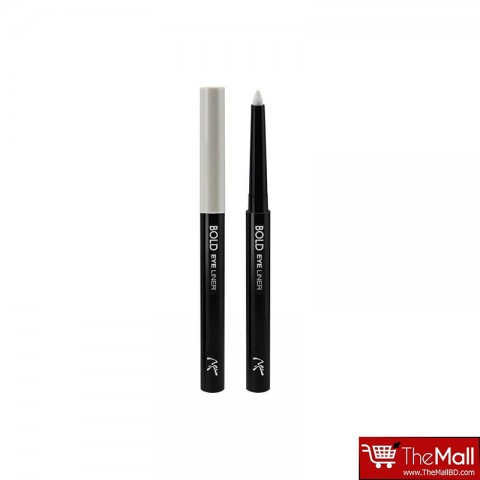 Nicka K Bold Eyeliner 0.56g - AA0632 White