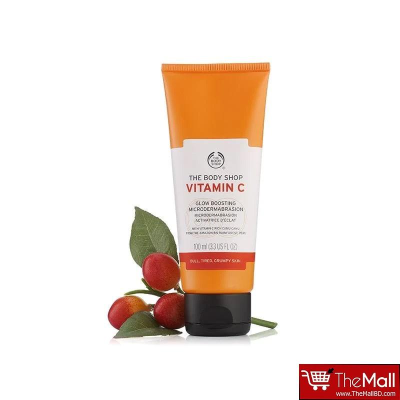 The Body Shop Vitamin C Glow Boosting Microdermabrasion Exfoliator 100ml