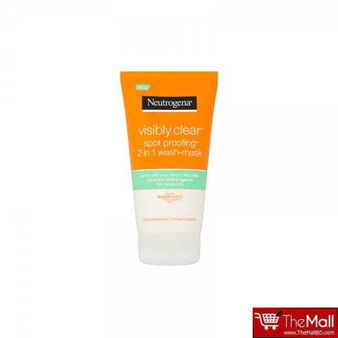 Neutrogena Visibly Clear Spot Proofing 2 in 1 Wash - Mask 150ml
