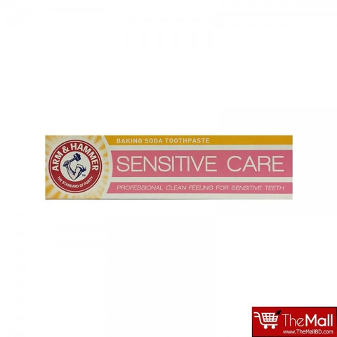 Arm & Hammer Sensitive Care Professional Clean Feeling Baking Soda Toothpaste Foe Sensitive Teeth 125g