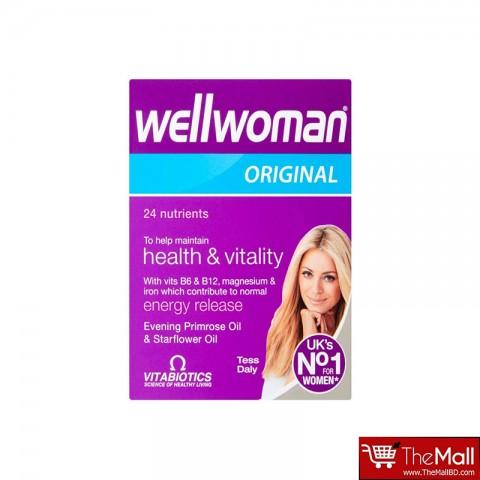 Vitabiotics Wellwoman Original 24 Nutrients To Help Maintain Health & Vitality 30 Capsules