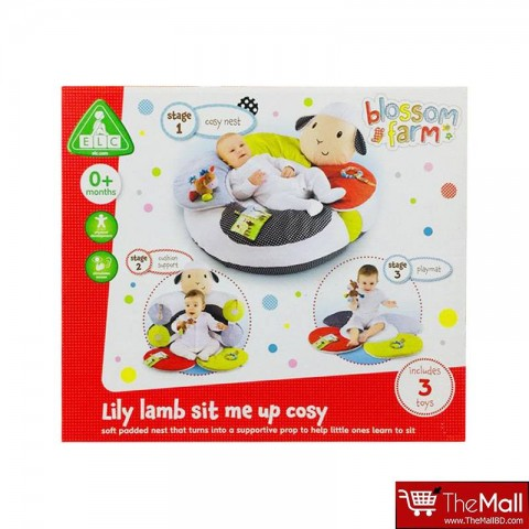 Early Learning Center  Blossom Farm Lily Lamb Sit Me Up Cosy