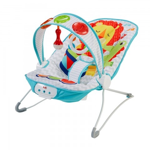 Fisher- Price Kick n play Musical Bouncer