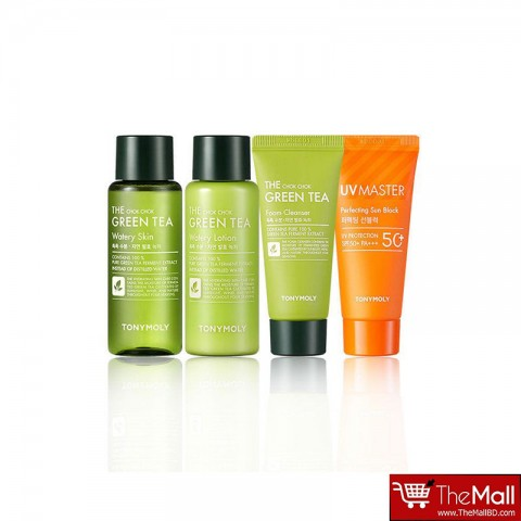 Tonymoly The Chok Chok Green Tea Travel Kit