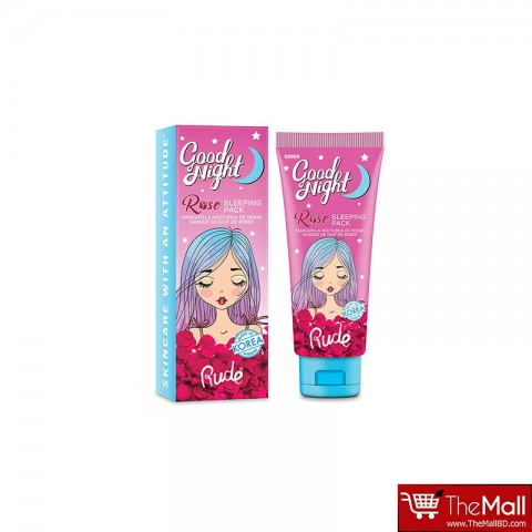 Rude Good Night Rose Sleeping Pack 50ml