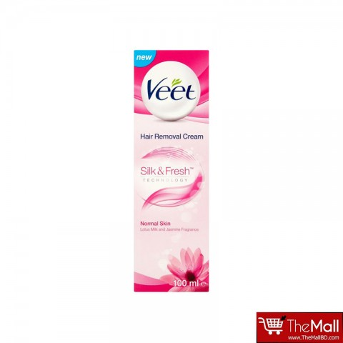 Veet Hair Removal Cream Silk & Fresh For Normal Skin 100ml