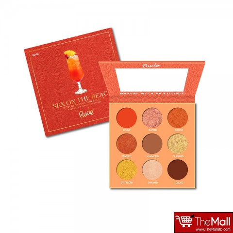 Rude Cocktail Party 9 Color Eyeshadow Palette - Sex On The Beach