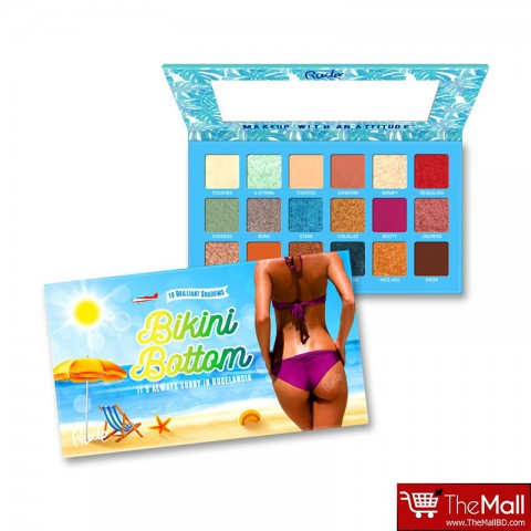 Rude Bikini Bottom 18 Brilliant Eyeshadow Palette