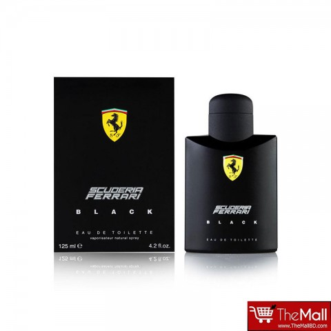 Scuderia Ferrari Black Eau De Toilette For Men 125ml