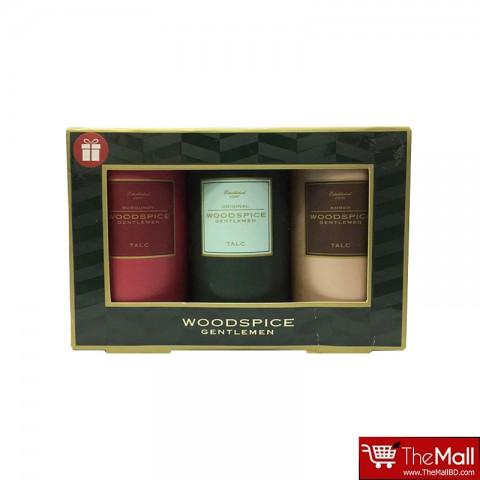 M&S Woodspice Gentlemen Talc Gift Set