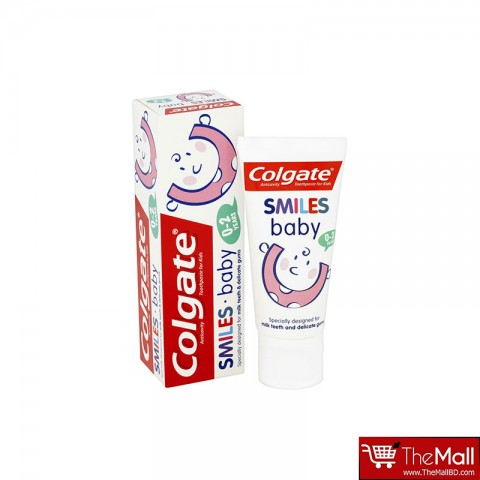 Colgate Smiles Junior 0-2 Years Kids Toothpaste- 50 ml