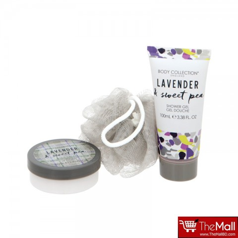Body Collection Lavender & Sweet Pea Shower Set