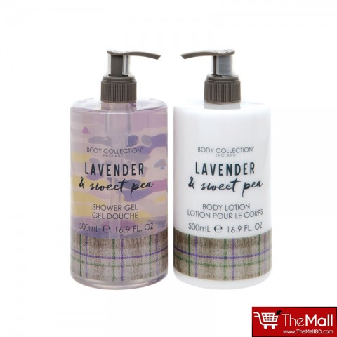 Body Collection Lavender & Sweet Pea Body Duo
