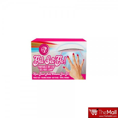 W7 Get Set Go Portable UV/Led Gel Nail Lamp