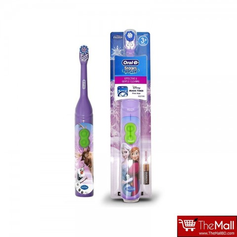 Oral B Stages Power Frozen Battery Toothbrush -3+ Years