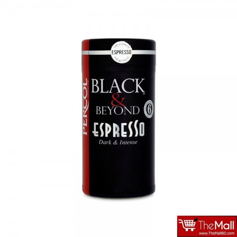 Percol Black & Beyond Espresso Dark & Intense Coffee 100g