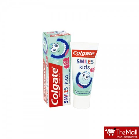 Colgate Smiles Kids 3-5 Years Anticavity Toothpaste 50ml