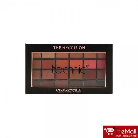 Technic 24 Eyeshadow Palette - The Heat Is On