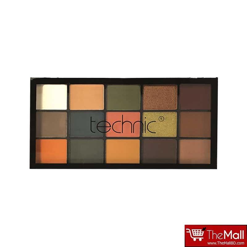 Technic 15 Eyeshadow Palette - Shaken, Not Stirred