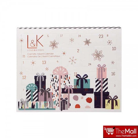Technic Love & Kisses Cosmetics Advent Calendar Gift Set