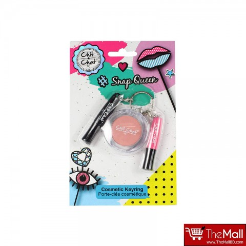 Technic Chit Chat Snap Queen Cosmetics Keyring Set