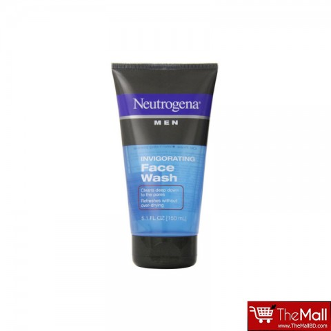 Neutrogena Invigorating Face Wash For Men 150ml