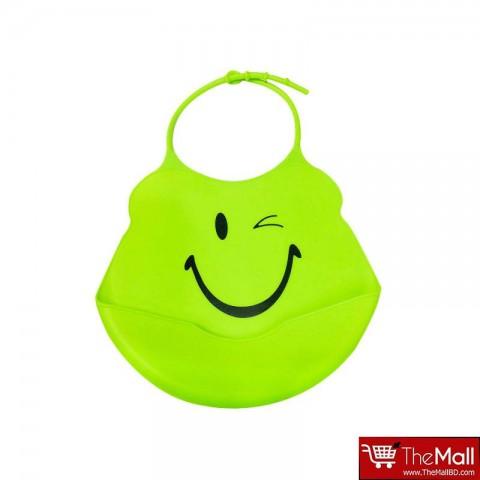 Baby Face Bib - Smiley