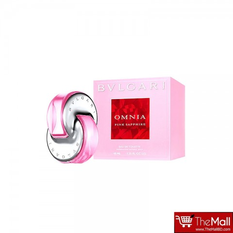 Bvlgari Omnia Pink Sapphire Eau de Toilette For Women 40ml