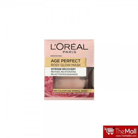 L'oreal Paris Age Perfect Intense Recovery Rosy Glow Mask 50ml