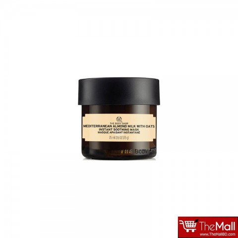 The Body Shop Mediterranean Almond Milk With Oats Instant Soothing Mask 75ml