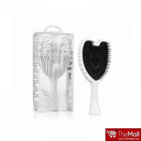 Tangle Angel Essentials Detangling Hair Brush - White & Black