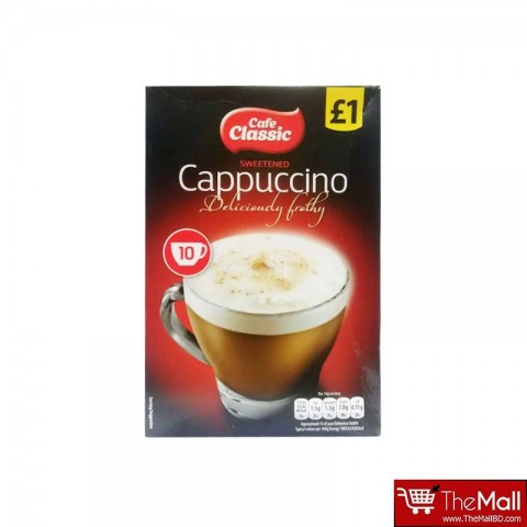 Cafe Classic Cappuccino 10 Sachets - 140g
