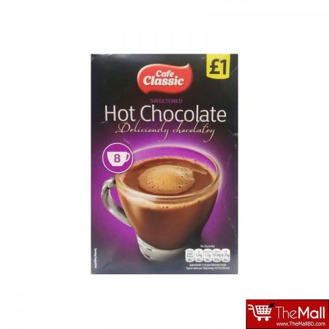 Cafe Classic Hot Chocolate 8 Sachets - 200g