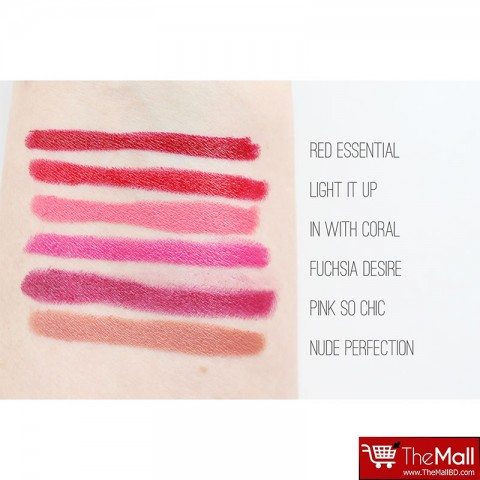 Maybelline Color Drama By Color Show Intense Velvet Lip Crayon - 420 In With Coral