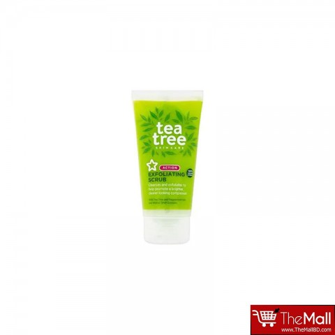 Superdrug Tea Tree Exfoliating Scrub 75ml