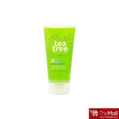 Superdrug Tea Tree Facial Wash 150ml