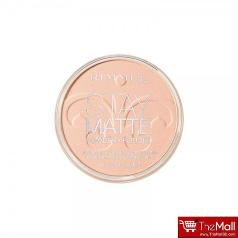 Rimmel Stay Matte Pressed Powder 14g - 002 Pink Blossom