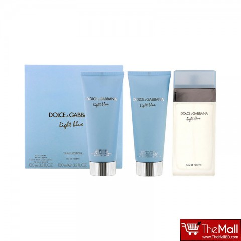Dolce & Gabbana Light Blue Travel Edition Gift Set