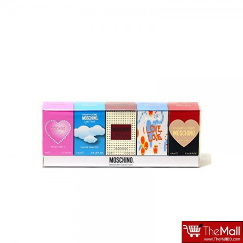 Moschino Miniature Collecion Gift Set