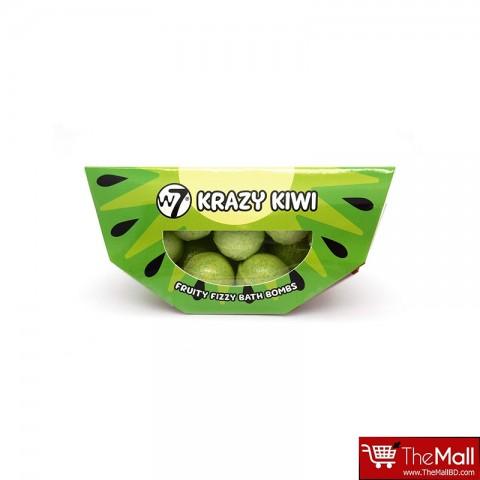 W7  Fruity Fizzy Bath Bombs - Krazy Kiwi